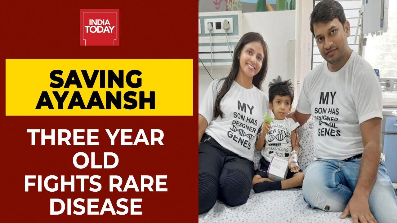 Saving Ayaansh | Three Year Old Boy Administered World's Costliest Drug; Fights Rare Disease