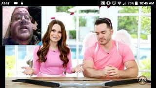 Rosanna Pansino 👗 - The Cupid Challenge! ft Captain Sparklez - DTMP Reaction