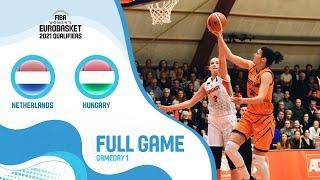Netherlands v Hungary - Full Game - FIBA Women's EuroBasket 2021 Qualifiers