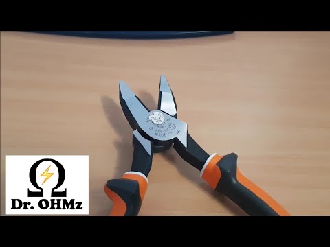 KLEIN 1000V INSULATED LINEMANS PLIERS