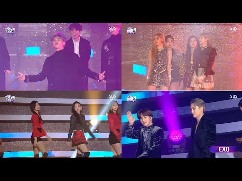 SBS Gayo Daejeon 2018 All Artists Opening [1080p]