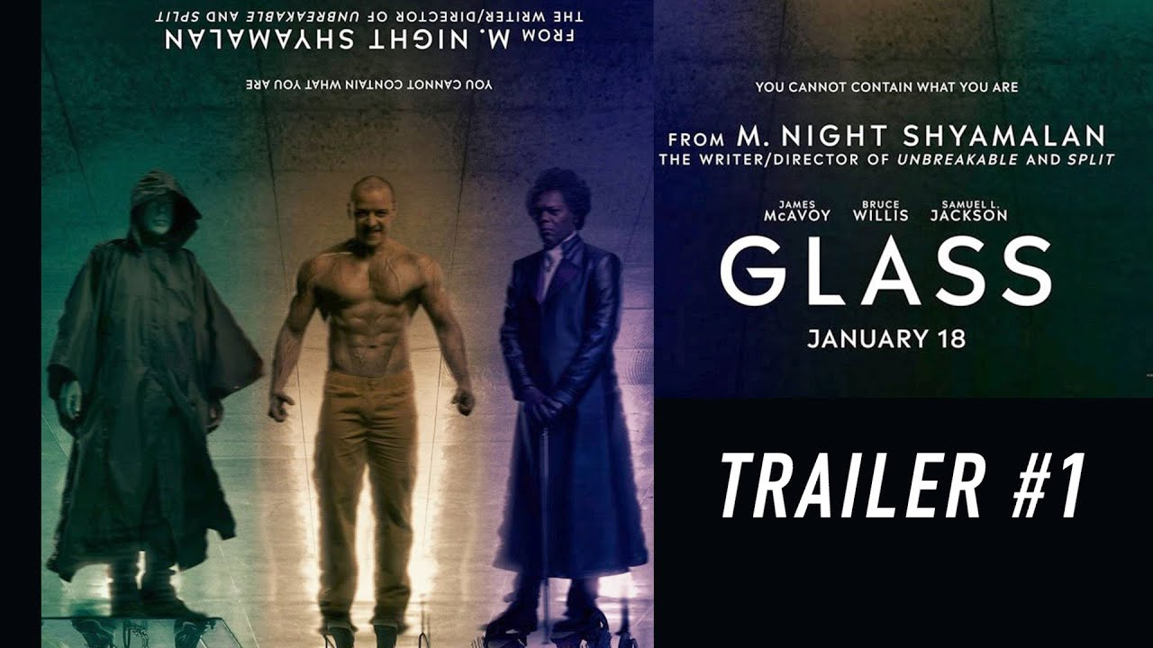 Movie Poster 2019: GLASS (2019): Alternative Trailer
