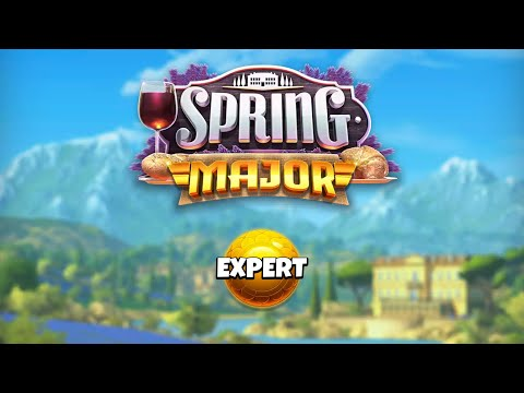 Golf Clash -Spring Major Tournament- (-17 Tyrone) EXPERT Day 1 Practice Rounds Take 2
