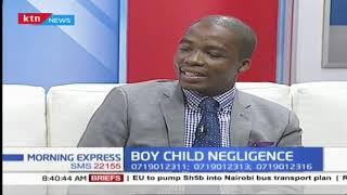 The boy child feels neglected as girls child seems to be favoured by the society