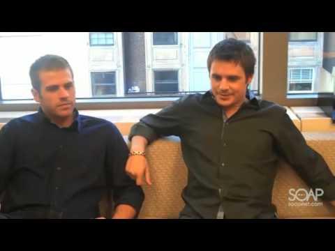 Behind The Scenes With OLTL's Scott Evans & Brett Claywell