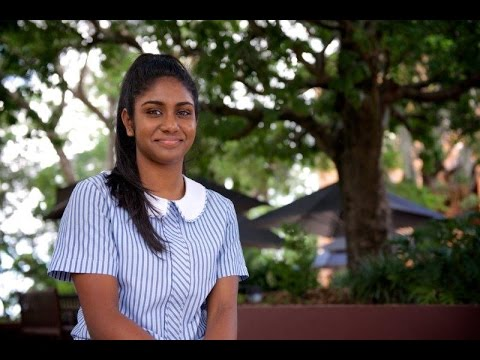 Stuartholme School student Saishnee - Aspiring Occupational Therapist