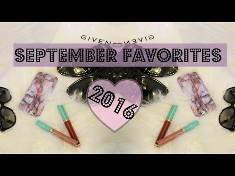 September Favorites - Givenchy, Valentino, Tory Burch & MORE!