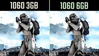 GTX 1060 3GB vs 1060 6GB Test in 14 Games