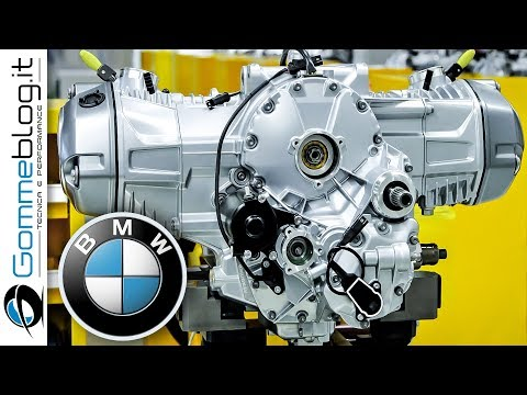 BMW Motorrad ENGINE - PRODUCTION