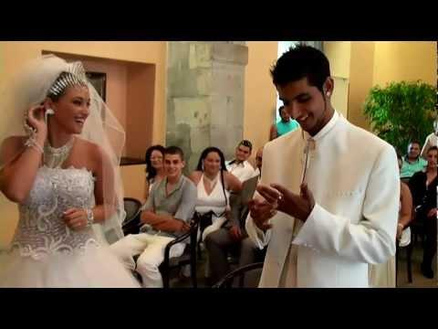 MARIAGE GITAN CARCASSONNE , Préscillia et Antonio , Caméraman Nordine  Aissaoui