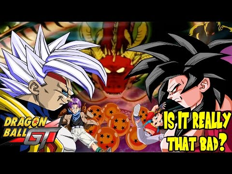 Dragon Ball GT Review to End All Reviews! (PART 1)