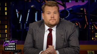 James Corden's Message After the El Paso & Dayton Tragedies