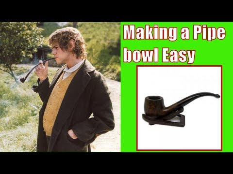 Making a replacement Tobacco Pipe bowl (DIY)