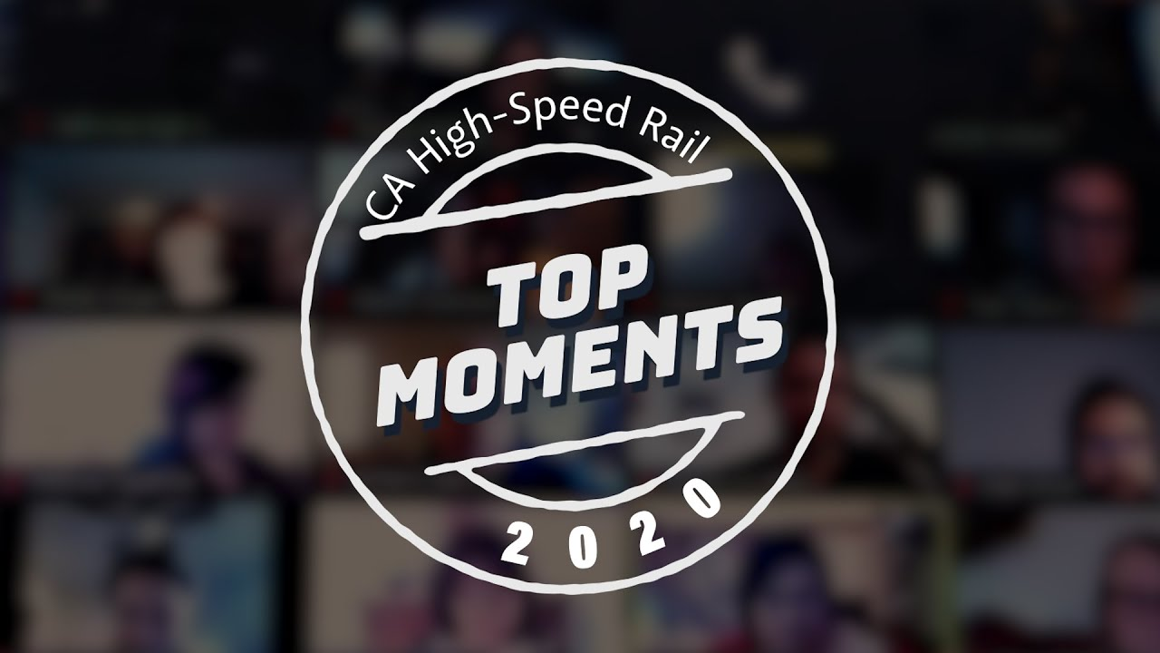 2020 has been a year like no other. High-speed rail has continued to move forward this year throughout the state despite COVID-19 challenges. From major environmental actions in Northern and Southern California to a ramp up in construction that included new milestones in worker numbers and five structures opening in a span of about three months, see how high-speed rail is moving ahead full speed into 2021.