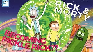 The SCIENCE of How RICK Became PICKLE RICK??   TV Tech
