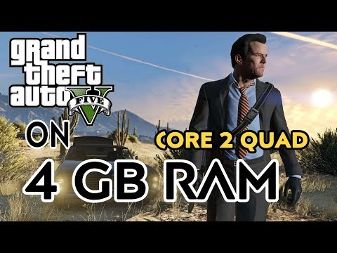 GTA V ON CORE 2 QUAD Q9550 | 4 GB RAM | GT 1030 2 GB GPU