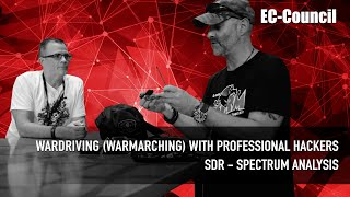 EC-Council - Wardriving (WarMarching) with professional hackers - SDR - SPECTRUM ANALYSIS