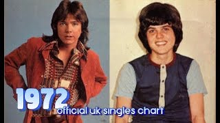 Top Songs of 1972 | #1s Official UK Singles Chart Video