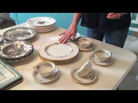 How To Make Money Buying Expensive Bone China At Goodwill & Other Thrift Stores!