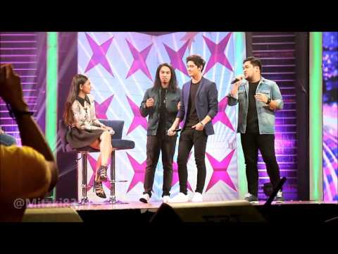GGV Grabe Sya O - James Reid singing cater to you with #TeamRaksNotDead