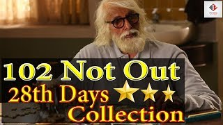 102 Not Out Box Office Collection | 28 Day's Worldwide Box office Collection | Amitabh & Rishi