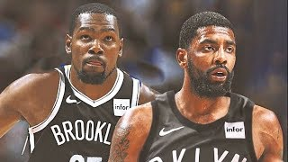 Kevin Durant & Kyrie Irving 1st Nets Practice Debut (Parody)