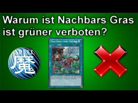 Yu-Gi-Oh! | Warum ist Nachbars Gras ist grüner verboten?
