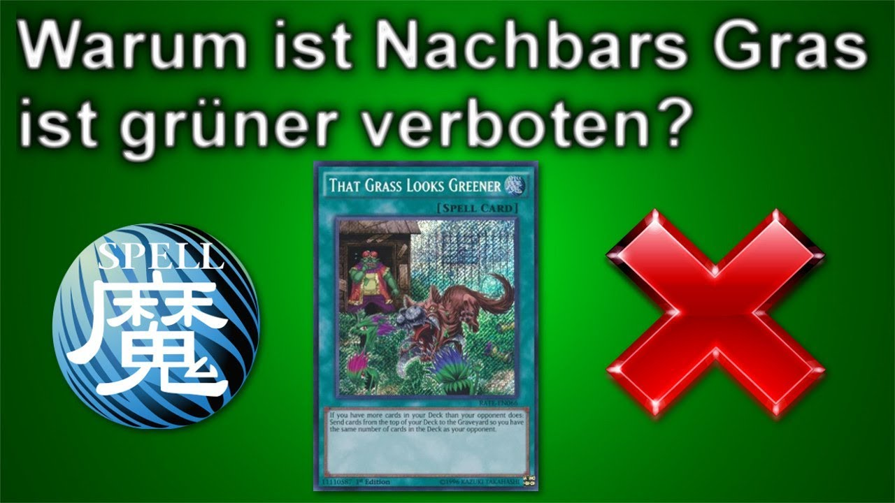 yu gi oh warum ist nachbars gras ist gr ner verboten youtube. Black Bedroom Furniture Sets. Home Design Ideas