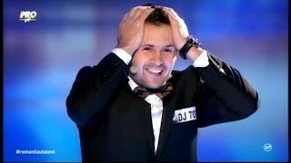 Magicianul Robert Tudor la Romanii au Talent 2015