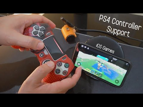 IOS IPhone Games To Play With PS4 Controller
