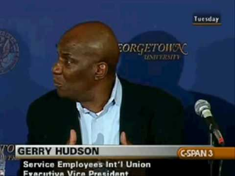Gerry Hudson: White Workers Are So F**king Rabidly Racist