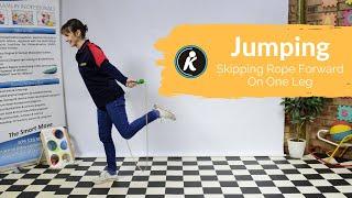 Skipping Rope Forward - On One Leg