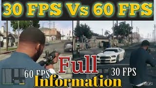 60fps vs 30fps | Difference between 60fps and 30fps
