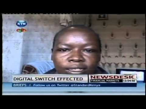 Digital switch effected in Nairobi and its environs