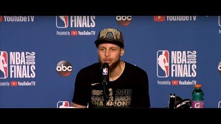 Stephen Curry Postgame Interview | NBA Finals Game 4