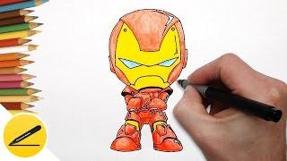 Как Нарисовать Железного Человека (чиби) ★ Рисуем поэтапно(Как рисовать Железного Человека. В этом видео я показываю как нарисовать Железного Человека (Чиби). Я рисую..., 2016-10-14T14:52:59.000Z)