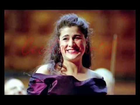 Cecilia Bartoli Vocal Range (E♭3 - F♯6)