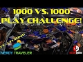 🎟 1K Play Challenge w/ Nerdy Traveler! | Star Trek Coin Pusher Arcade Collab Video | ClawD00d