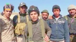 شاب عراقي مواليد 1999 يذهب الى القتال مع الحشد الشعبي بعد منعه من قبل أصحابه شاهد ما يقول