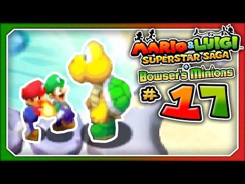 Mario Luigi Superstar Saga Bowser S Minions Part 17 The Firebending Bros 3ds
