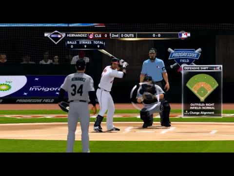 MLB 2K12  Seattle Mariners VS  Cleveland Indians