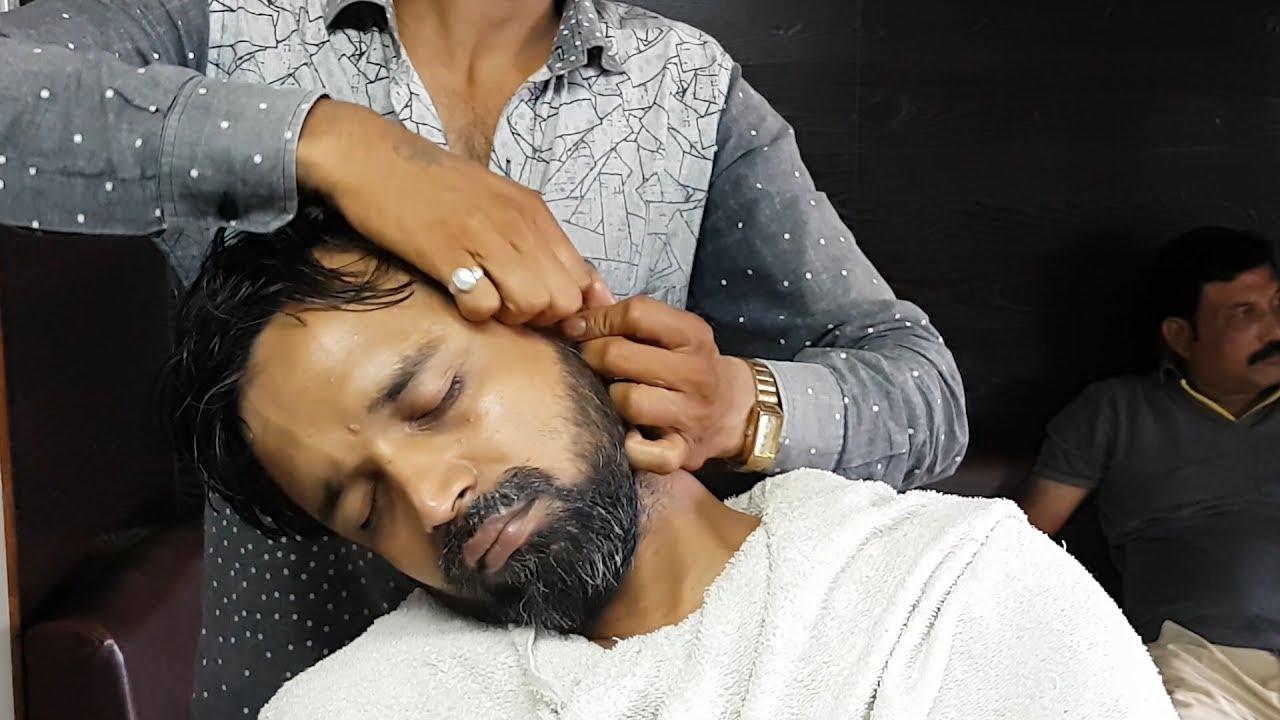ASMR relaxing face massage