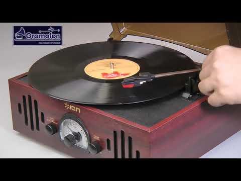 ION AUDIO TRIO LP - проигрыватель виниловых дисков со встроенным усилителем, акустикой, тюнером