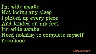 Wide Awake - Madilyn Bailey (Lyric Video)