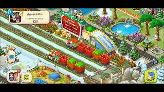 ТАУНШИП город и ферма #562  Знакомство с моим городом  Игровое видео