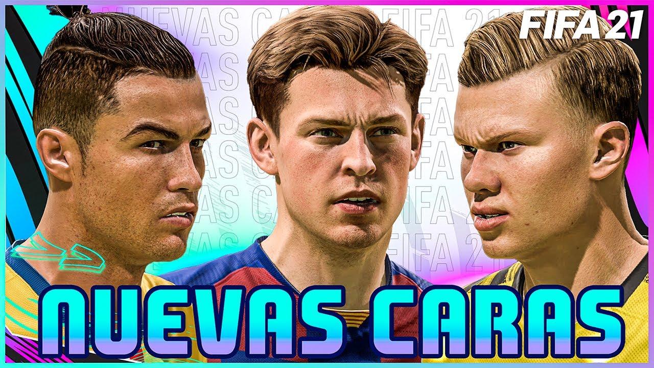 ¡TODAS LAS NUEVAS CARAS DE FIFA 21! | NEYMAR, CRISTIANO, HAALAND, MESSI, MBAPPÉ...