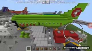 Minecraft Ingin Jadi Pilot Pesawat Terbang