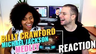 Billy Crawford - Michael Jackson Medley | REACTION