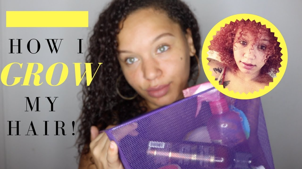 how to make curly hair grow