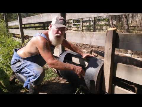 How to Build a Hog or Pig Feeder EZ DIY